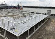 Staalconstructie met verdiepingsvloeren Rotterdam